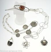 Modernist Silver Pendant