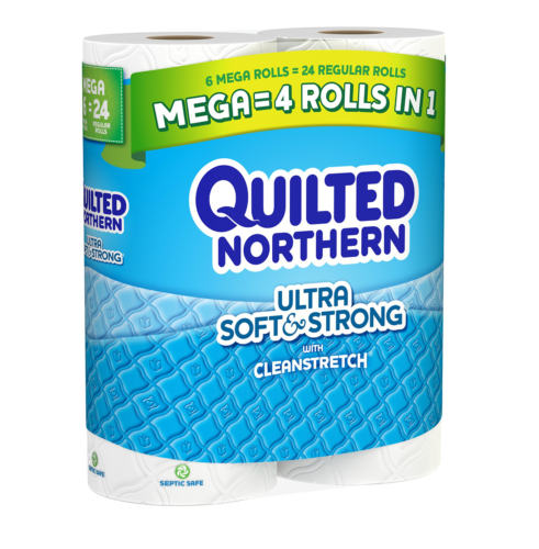 Quilted NorthernUltra Soft & Strong Toilet Paper,