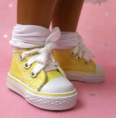 Sasha Dolls - Sneakers Canvas Yellow - The Doll Works