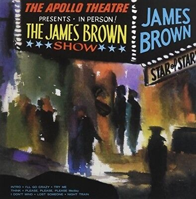 James Brown - Live At The Apollo [New Vinyl LP] UK -