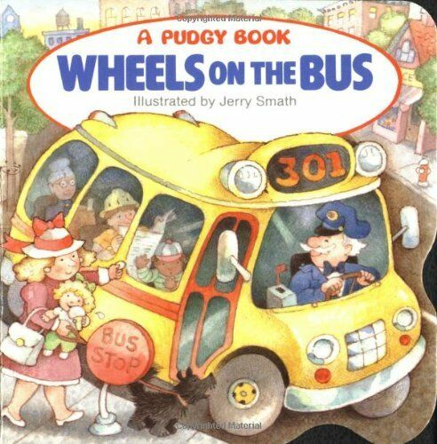 Pidgy Book : Wheels on the Bus - board book - NEW