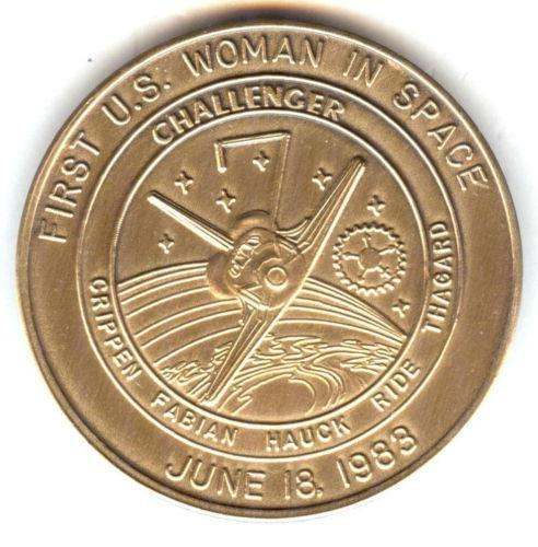 space shuttle challenger coins - photo #15