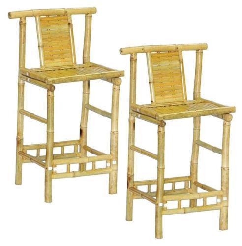 Bamboo Bar Stools Ebay