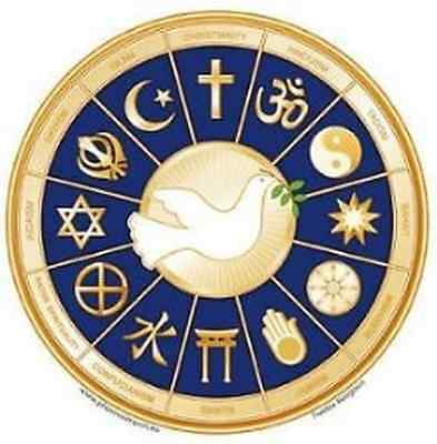 FENG SHUI Fensterbild 12 Religionen Energie