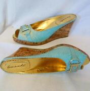 Womens Gold Shoes Size 9