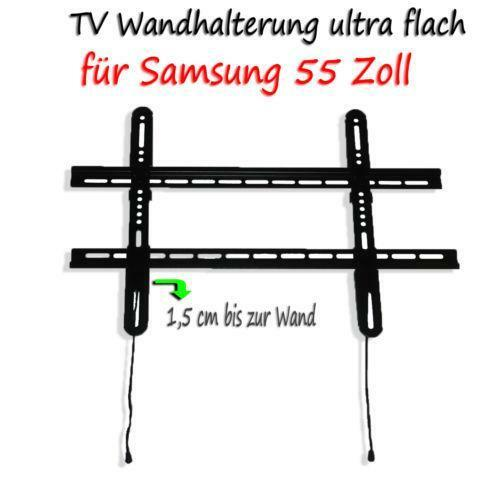 wandhalterung samsung 55 zoll ebay. Black Bedroom Furniture Sets. Home Design Ideas