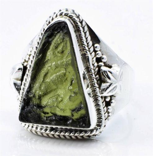 Moldavite Ring Ebay