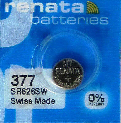 renata battery 377 SR626SW  free shipping