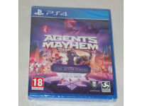 SONY PLAYSTATION PS4 GAME AGENTS OF MAYHEM DAY ONE EDITION LEGAL ACTION PEND DLC