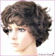 Ladies Medium Curly Wigs