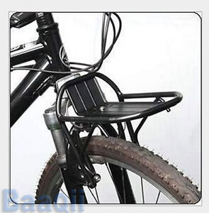 Mountain-Cycling-Bike-Bicycle-Aluminum-Alloy-Front-Rack-Pannier-Bag-Bracket-DA