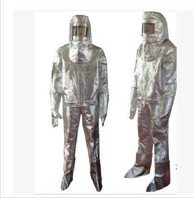 Thermal Radiation 500 Degree Heat Resistant Aluminized Suit Fireproof Clothes ag