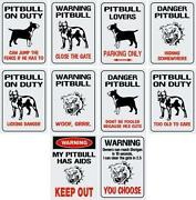 Pitbull Sign