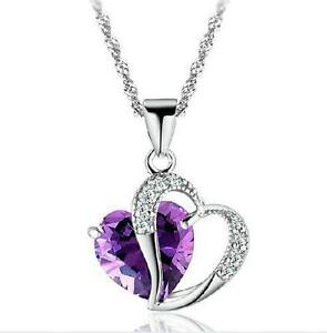 Amethyst pendant ebay silver amethyst pendants mozeypictures Images