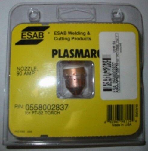 ESAB 0558002837 NOZZLE 90A for PT-32 - QTY 5