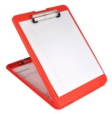 Saunders Slimmate Storage Clipboard - 0.50 Clip Capacity - Compartment