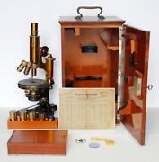 Antique Zeiss Microscope