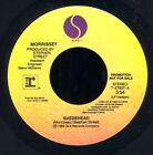 Morrissey Promo 45 RPM Speed Vinyl Records
