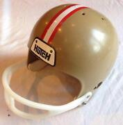 Vintage Hutch Football Helmet