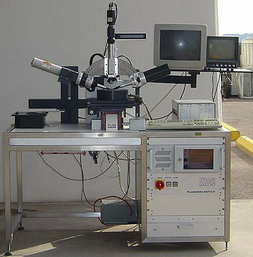 """PLASMOS SD-2000-LC 8""""/200 mm Film Thickness Automatic Ellipsometer (Metrology)"""