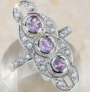 Amethyst Art Deco Jewelry