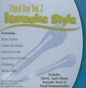 Third Day Volume 2 Christian Karaoke Style New Cd+g Daywind 6 Songs Karaoke Entertainment Musical Instruments & Gear