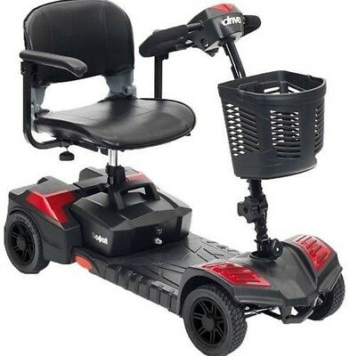 4 Wheel Drive Power Scooter Medical Mobility Disability Spitfire Scout Scooter