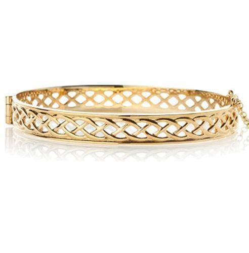 9ct Gold Hinged Bangle Ebay