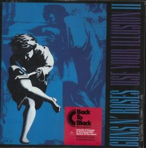 GUNS N ROSES 'Use Your Illusion 2' NEW FACTORY SEALED LP VINYL