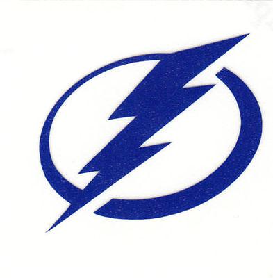 REFLECTIVE Tampa Bay Lightning 2 inch fire helmet decal yeti window hard hat Tampa Bay Lightning Window