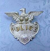 Massachusetts Police Badge