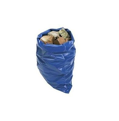 20pc Blue Heavy Duty Strong Rubble Sacks Garden And Builders Waste sacks