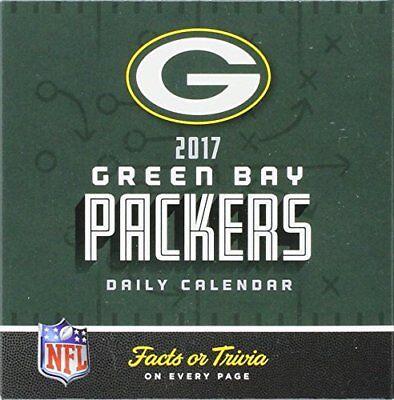 Official GREEN BAY PACKERS 2017 Daily Calendar Football NFL Office Desk