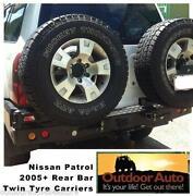 Nissan Patrol GU Rear Bumper