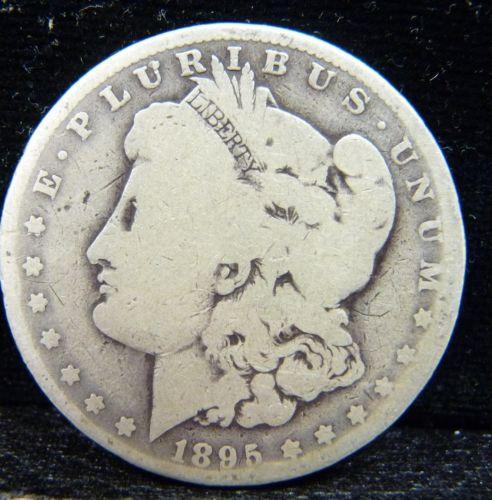 1895 Morgan Silver Dollar eBay