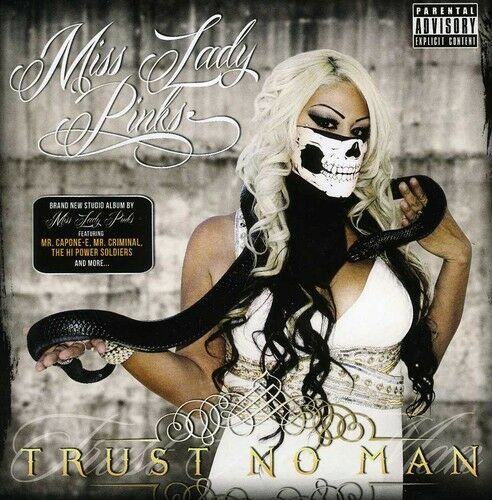 Miss Lady Pinks - Trust No Man [New CD] Explicit