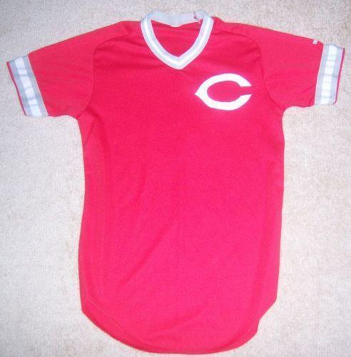cincinnati reds vintage jersey