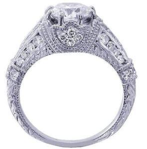 White Gold Engagement Ring eBay
