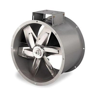 New 34 Dayton Tubeaxial Paint Spray Booth Fan - Belt Drive 3c413 Aluminum Blade