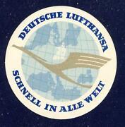 Lufthansa Aufkleber