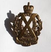 Scottish Regimental Badges