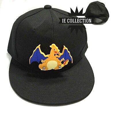 POKEMON CHARIZARD CAPPELLO COSPLAY berretto Hat cappellino Dracaufeu - Glurak Kostüm
