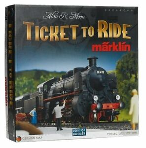 Board Games – Ticket to Ride Marklin, Arkham Horror etc