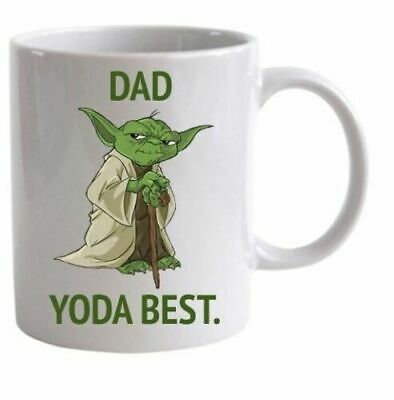 Dad Yoda Best, Star Wars Ceramic Mug, Funny Gift, Gift For