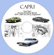 Ford Capri Manual