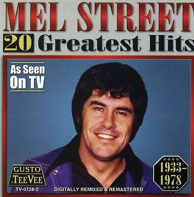 Mel Street   20 Greatest Hits  New Cd