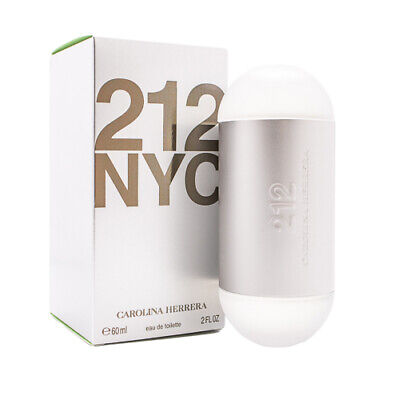 212 by Carolina Herrera 2.0 oz EDT Perfume for Women New In Box