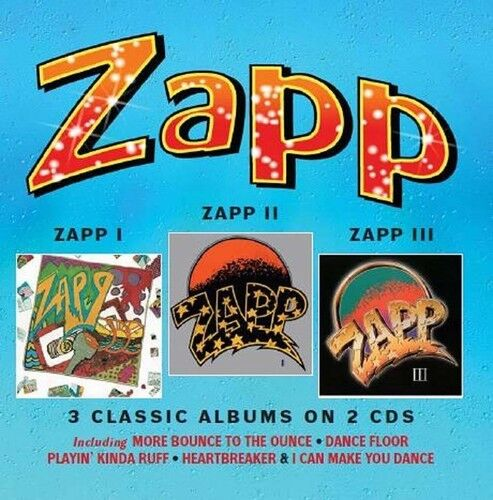 Zapp - Zapp I / Zapp Ii / Zapp Iii [new Cd] Uk - Import