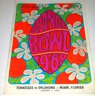 Orange Bowl Program