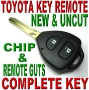 Toyota Yaris Key